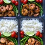Blackened Shrimp Meal Prep