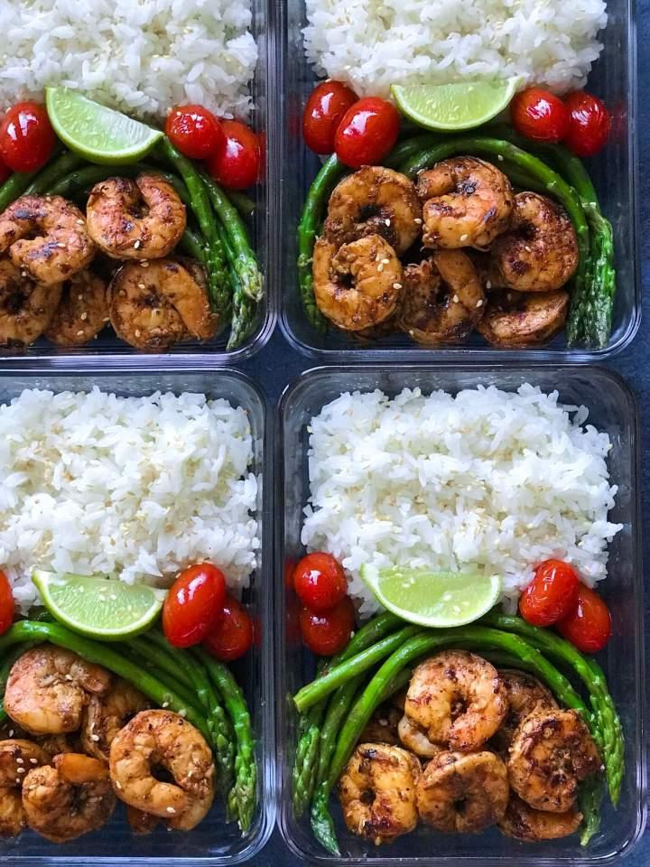 Blackened Shrimp Meal Prep is my favorite meal prep recipes