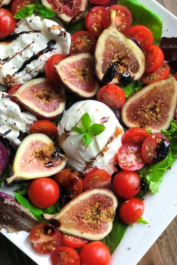 Burrata Fig Salad
