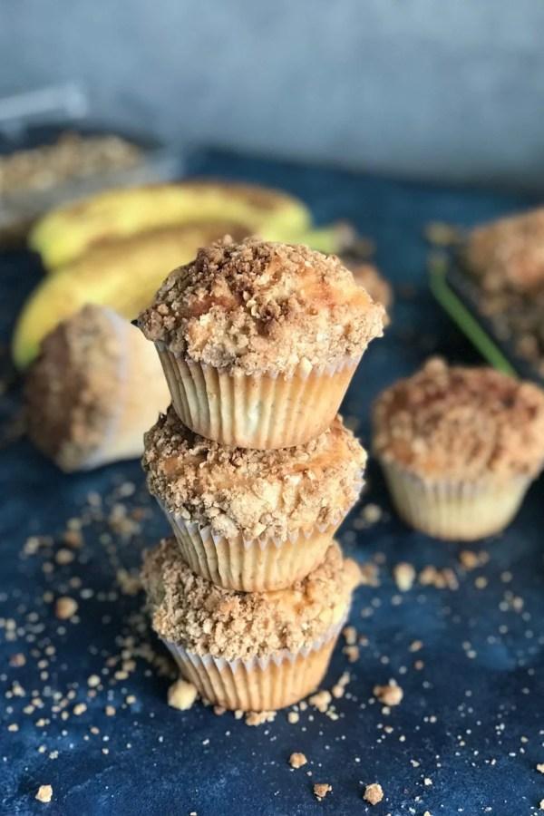 Healthy Banana Oats Muffin