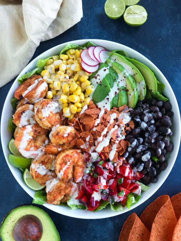Shrimp Taco Bowl Recipe