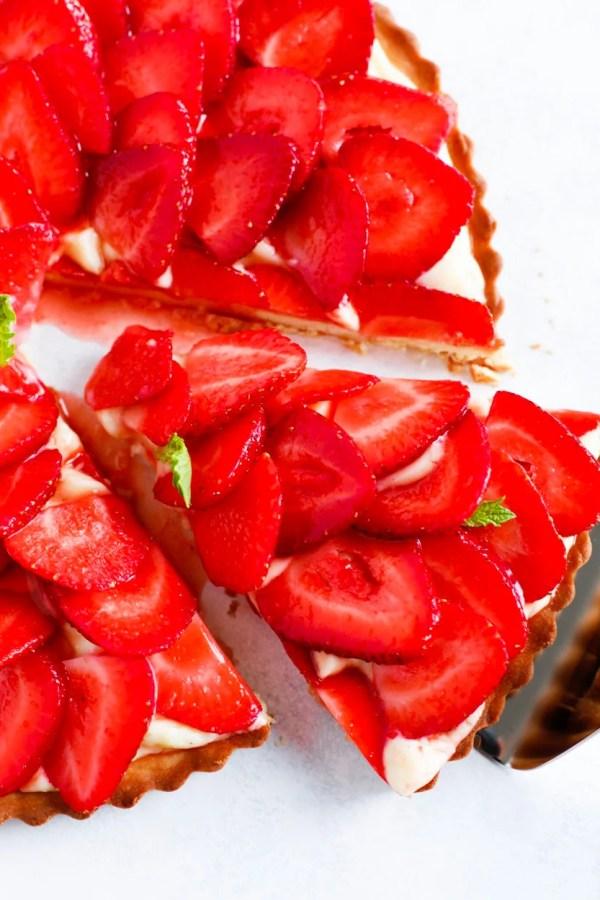 Strawberry French Tarte