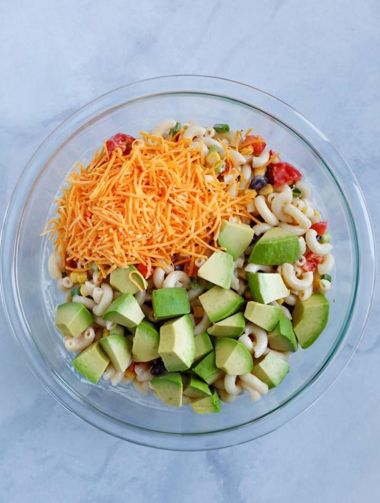Taco Ranch Pasta Salad