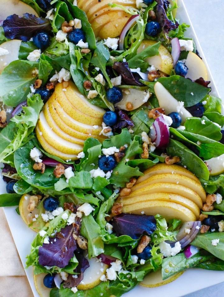 Autumn Pear Salad