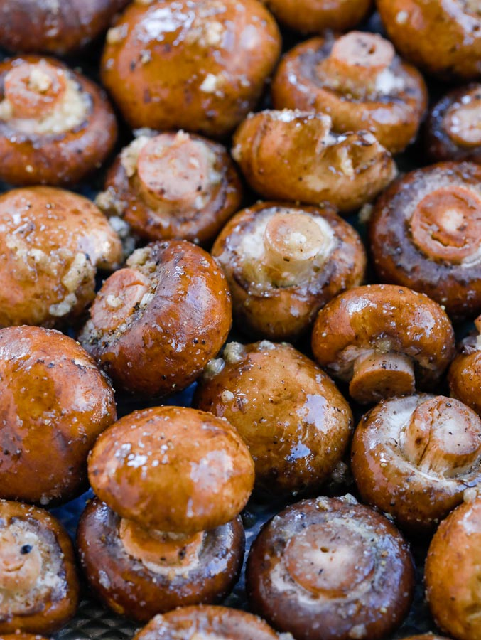 roasted garlic mushroom