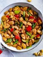 delicious Spicy Cashew Chicken