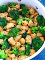 Spicy Teriyaki Chicken with Broccoli recipe