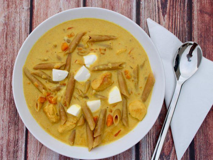 Cremige Curry-Pasta