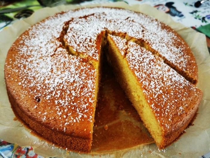 Saft-Kuchen ohne Eier