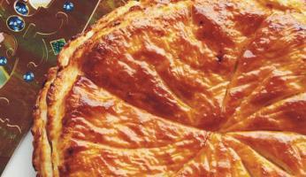 galette des rois pommes - cannelle