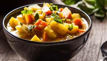 curry de légume et lait de coco