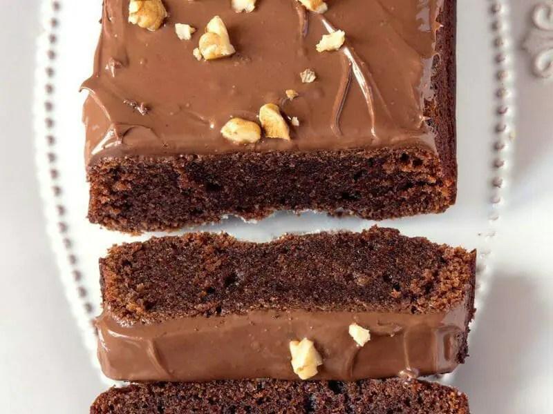 cake chocolat noisettes fondant au thermomix