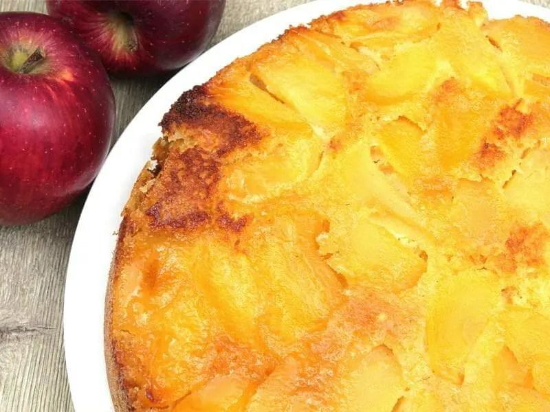 gateau renverse aux pommes caramelisees au thermomix