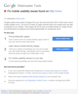 Google Sends a Warning – Go Mobile or Go Down