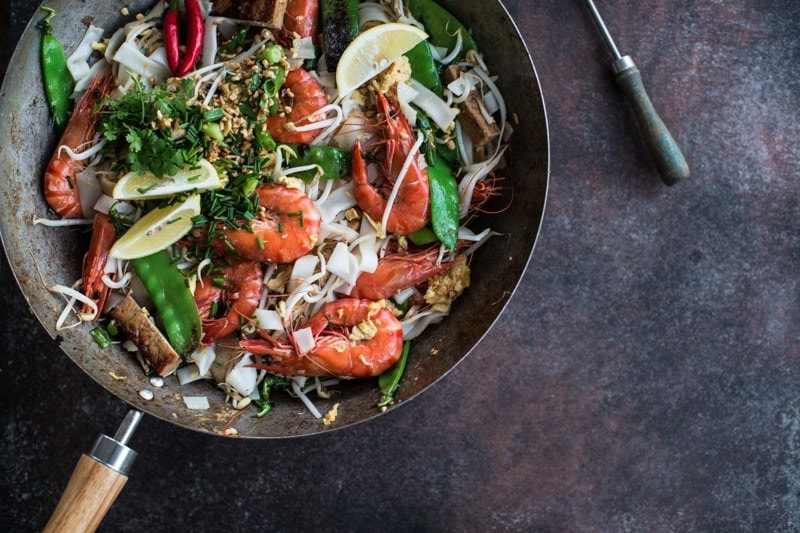 Prawn And Tofu Pad Thai - Cook Republic