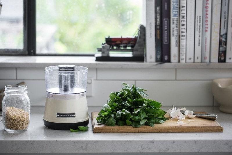Vegan Basil Pesto With Miso - Cook Republic
