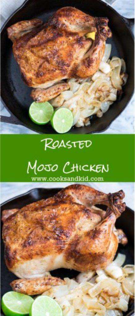Roasted Mojo Chicken
