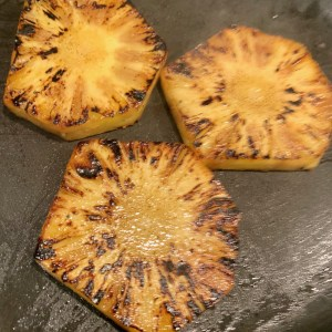 Blackened pineapple