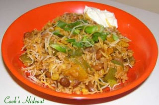 Spanish rice with Pinto Beans