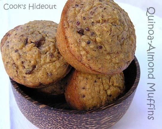 Quinoa-Almond Muffins