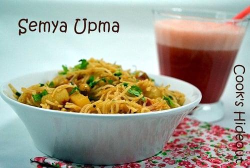 Vermicelli Pilaf (Semya Upma)