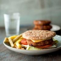 Refried Bean Burger Recipe | Vegan