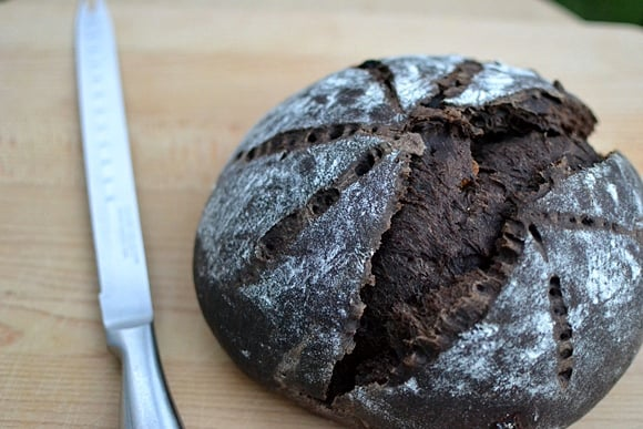 Sourdough Chocolate Bread