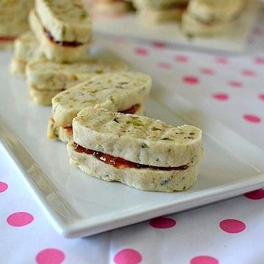 Pistachio Sandwich Cookies