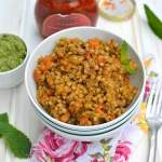 Israeli Couscous with Pesto & Carrots