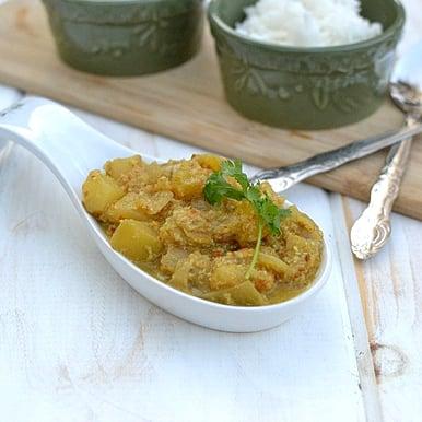 Raw Mango Masala Curry