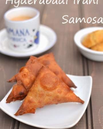 Crispy Irani Samosa