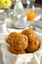 Pumpkin Cake Muffins