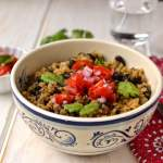 Costa Rican Refried Rice & Beans