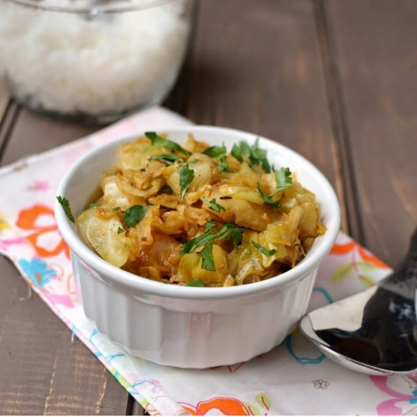 Spicy Cabbage dry Curry