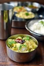 Mashed Potato Poriyal (Urulaikizhangu Podimas/ Mashed Potato Curry)