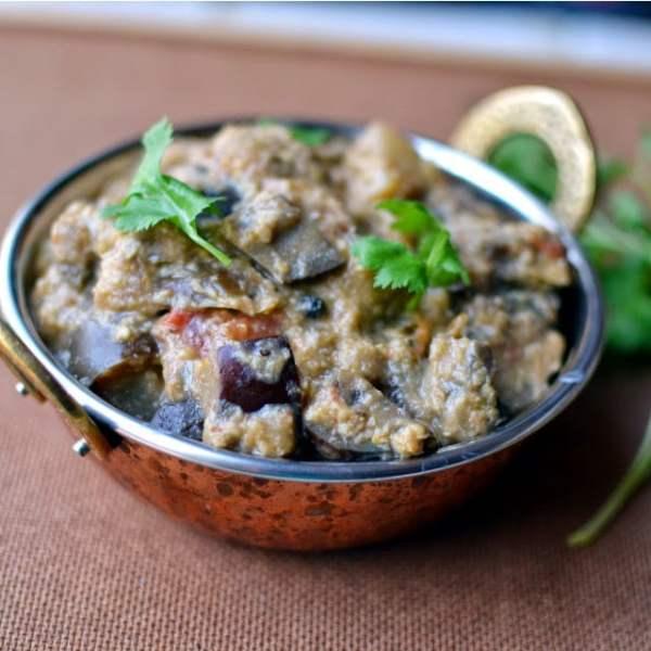 Therakkal -- Chettinad Eggplant Curry