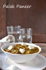 Palak Paneer (Curried Spinach & Cottage Cheese)