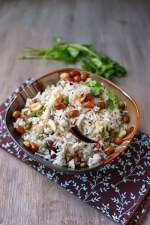 Coconut Rice with Fresh Pigeon Peas
