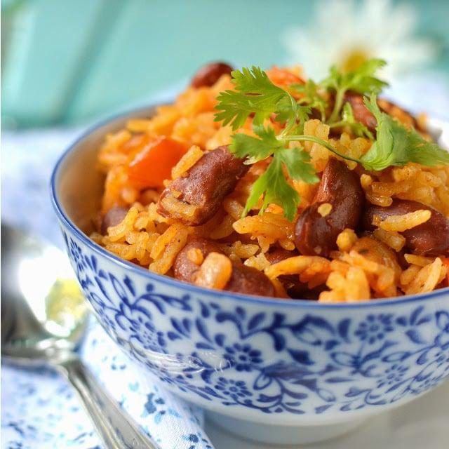 Dominican Republic -- Rice & Beans (Moro de Habichuelas)