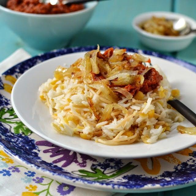 Egypt koshari vegetarian rice lentil vermicelli dish recipe egypt koshari vegetarian rice lentil vermicelli dish recipe cookshideout forumfinder Image collections