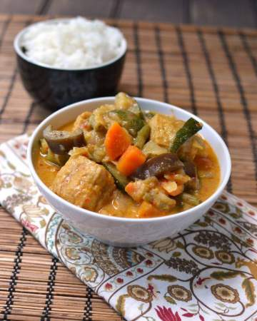 Malaysian Curry with Coconut milk