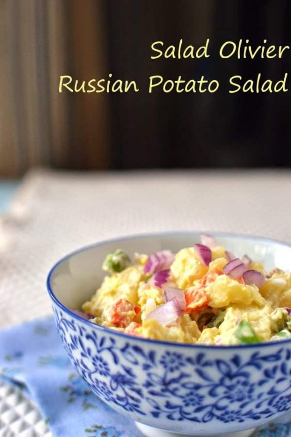 Salad Olivier -- Russian Potato Salad