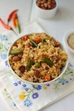 Peanut & Vegetable Rice