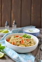 Pudina Vegetable Pulao