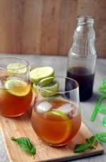 Limeade with Brown Cane Sugar (Agua de Papelon)