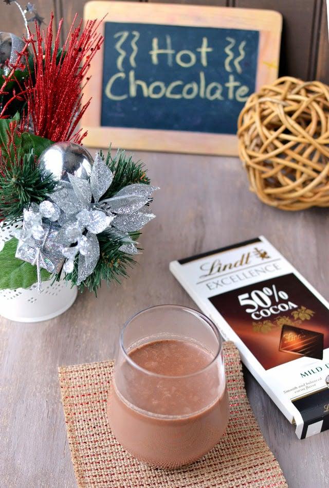 Hot Chocolate (Using Ganache)