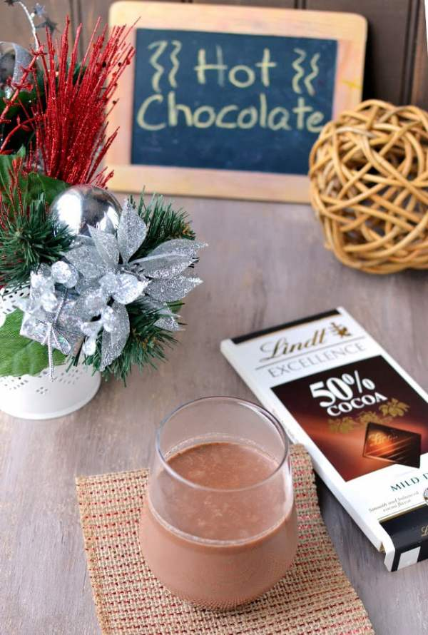 Hot Chocolate (Using Ganache)