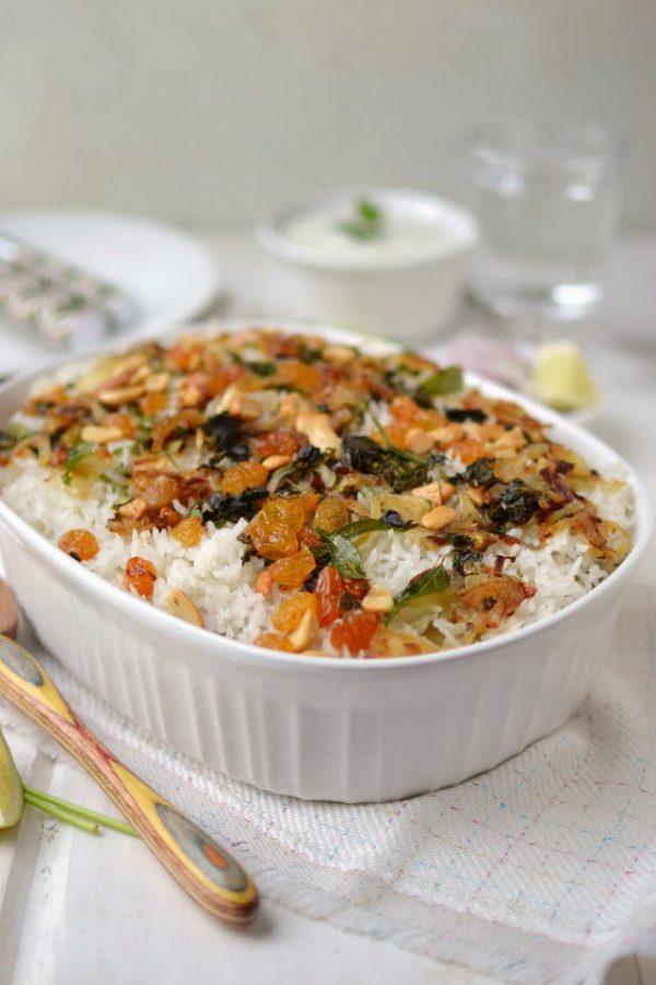 Kerala Vegetable Biryani (Vegetarian Recipe)