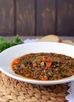 Brazilian Kale & Lentil Soup