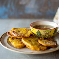 Cuban Tostones with Mojo Sauce Recipe
